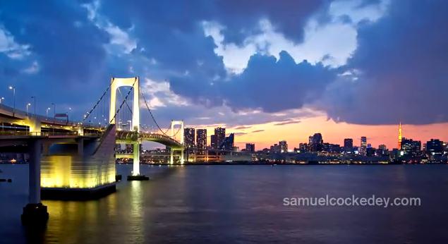 Timelapse de la ville de Tokyo