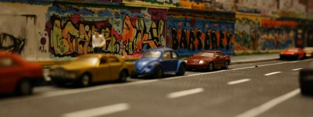 Du graffiti en stop motion