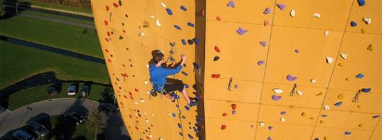 L'Excalibur, un mur d'escalade pas comme les autres