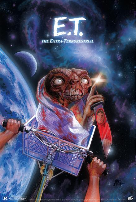 Affiches de films version zombies
