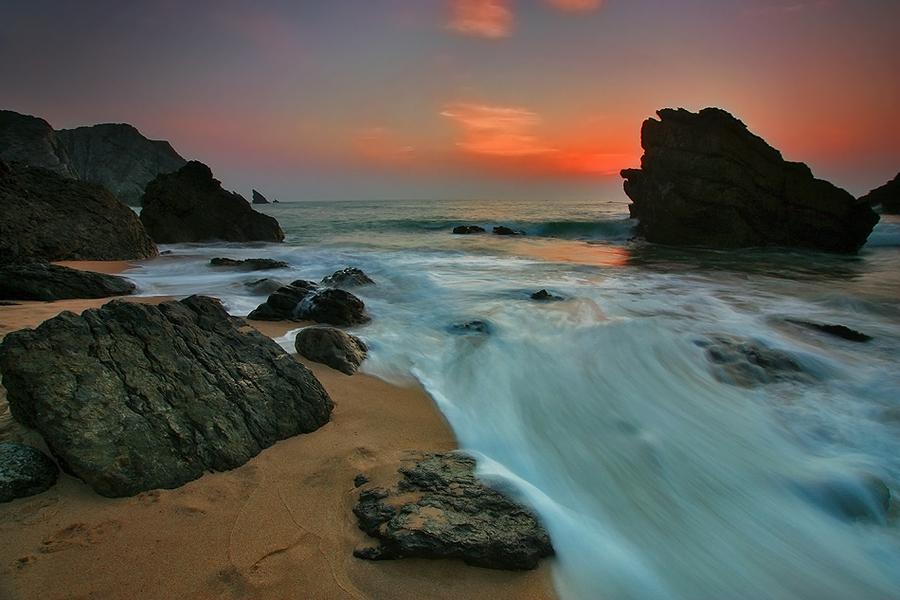 Photo du jour #7 : Soirée à la plage