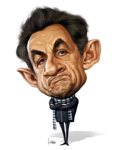 Caricatures de l'artiste Marco Calcinaro