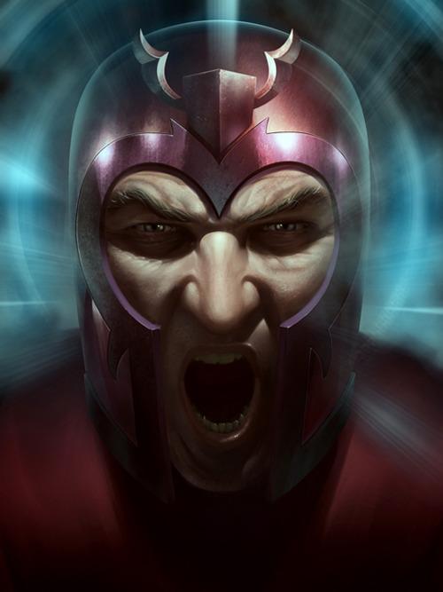 Des super-héros de bandes dessinées par Stefani Rennee