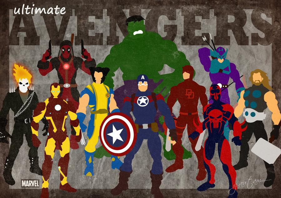 Affiches de super-héros par Gautam Singh Rawat