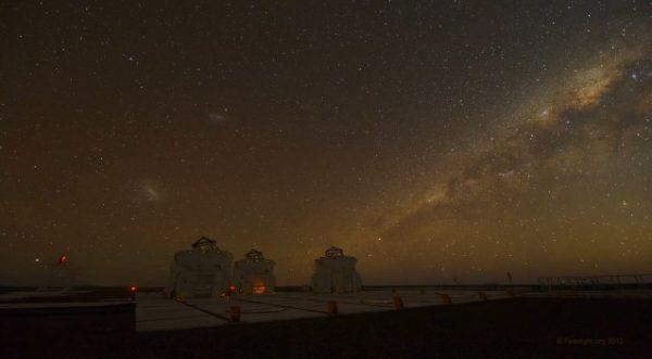 Time lapse de lObservatoire du Cerro Paranal au Chili
