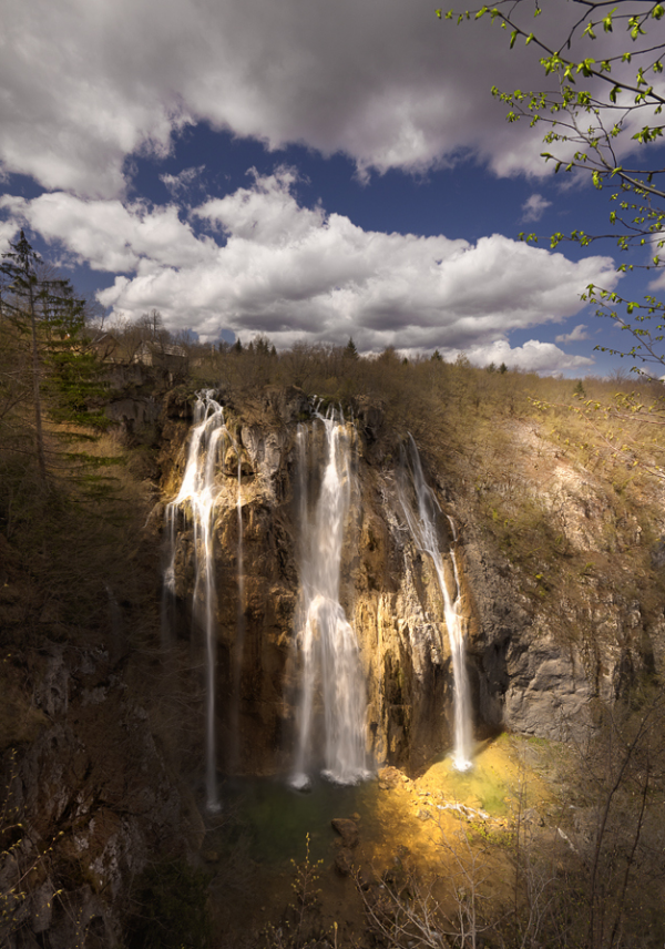 Photo du jour #110 : Plitvice lakes, big waterfall