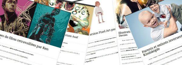 Affichez votre travail gratuitement sur Alex Blog !
