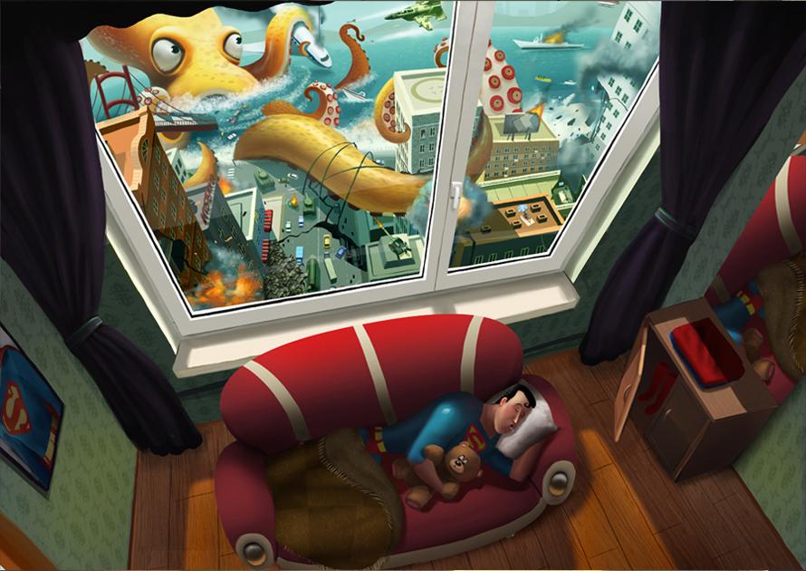 Illustrations de l'artiste Max Kostenko
