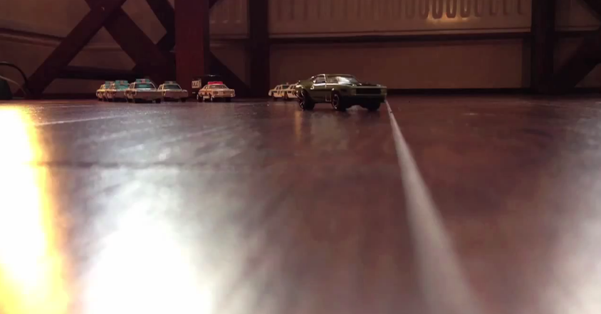 Stop motion d'une course poursuite – Nitro Warriors