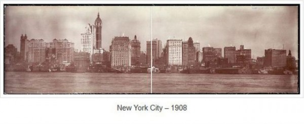 Photographies de New York il y a plus de 100 ans