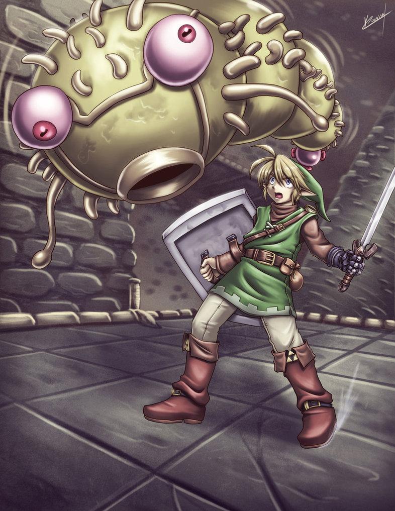 Les illustrations de The Legend of Zelda par l'artiste Karosu Makerd