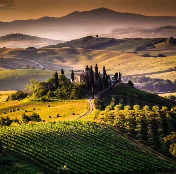Photographie du jour #288 : The Tuscan Morning