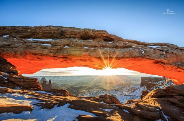 Time lapse des montagnes enneigées de lUtah   ouest des États Unis