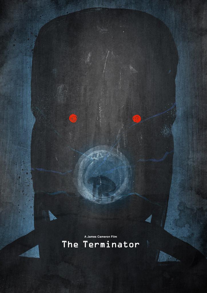 Les affiches minimalistes de films de l'artiste Dean Walton