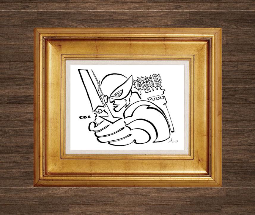 Illustrations sous formes de dessins de l'artiste Mike Hick