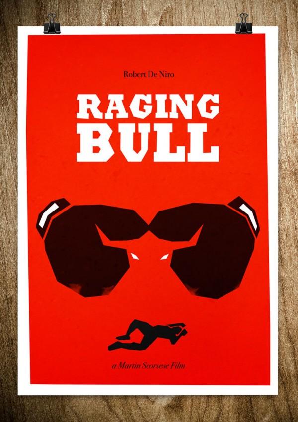Les affiches minimalistes de films lartiste Rocco Malatesta