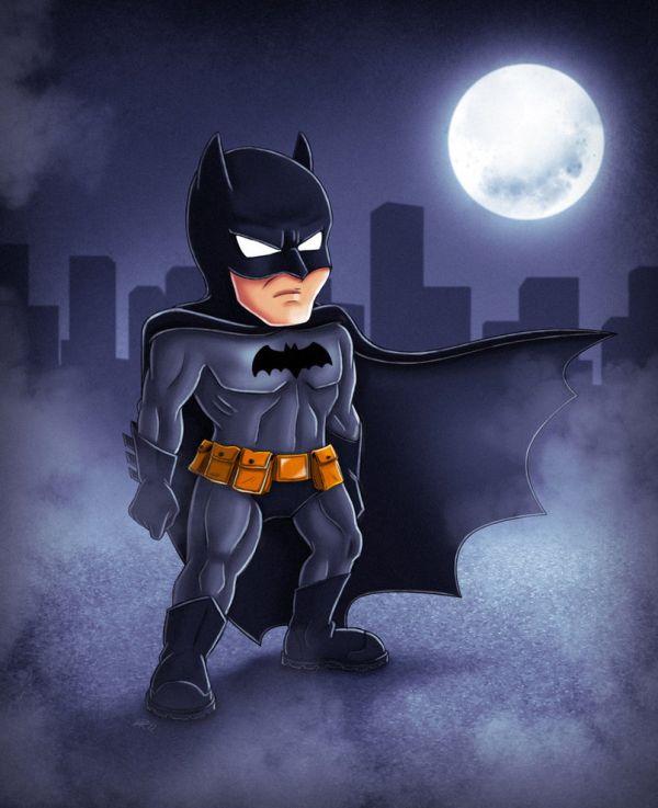 Les illustrations de super-héros par Ryodita