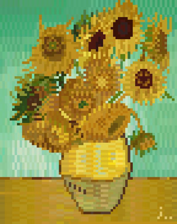 Pixel Art de l'artiste Jaebum Joo