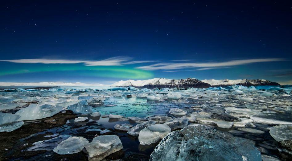 Les Aurores Polaires d'Islande en time lapse