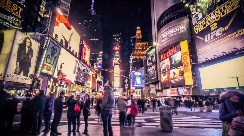 Time lapse de la ville de New York – The Big City