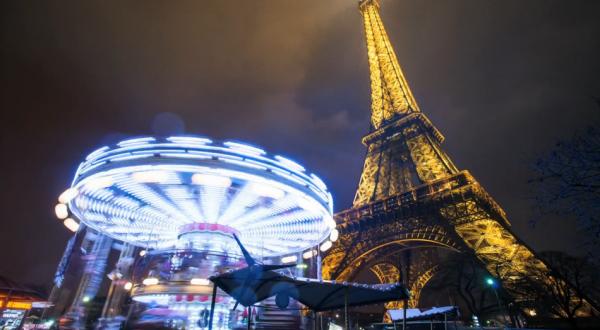 Time lapse de la ville de Paris, sa culture, son histoire et son architecture