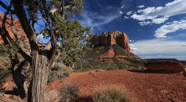 Time lapse de la région de Sedona   Arizona