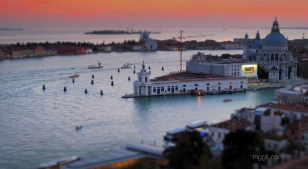Time lapse de la ville de Venise
