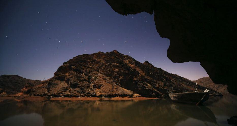 Time lapse des paysages d'Oman –  Moyen-Orient