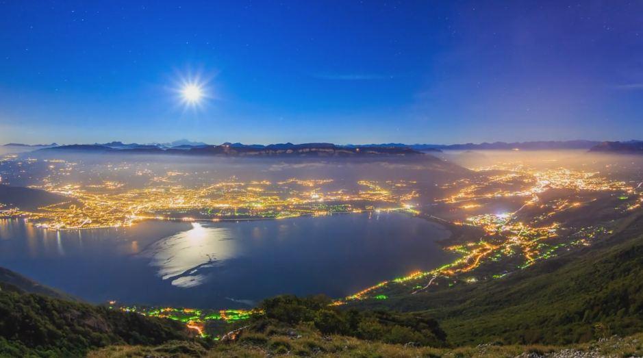 Time lapse des paysages nocturnes Savoyards – Savoie
