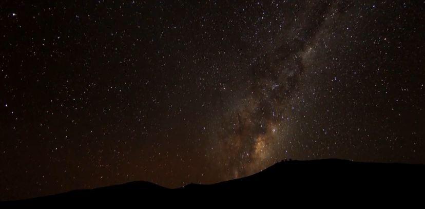 Time lapse des Very Large Telescope – désert d'Atacama