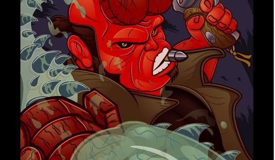Les illustrations marrantes de super-héros par Lord Mesa