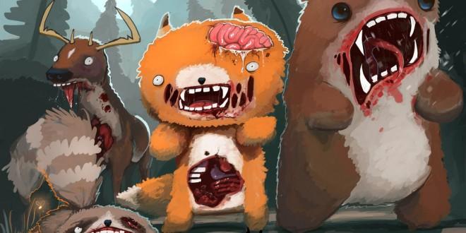 Les illustrations marrantes d'animaux par Hunter Mooney