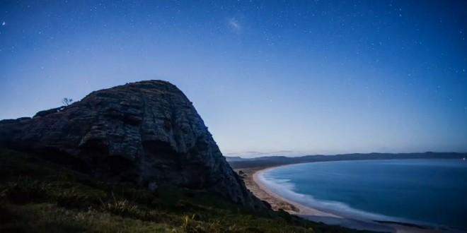Magnifique time lapse de la Nouvelle-Zélande
