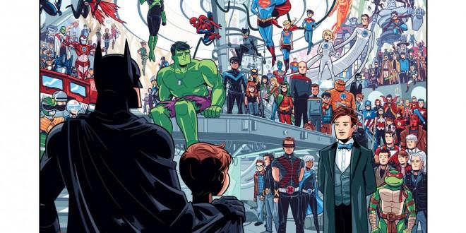 Les illustrations de super-héros par Dean Trippe