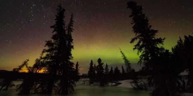 Vidéo sur la beauté des Aurores Polaires de Yukon – Canada