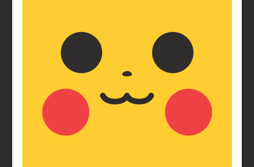 Les affiches minimalistes de Pokemon par Daniel Stanley