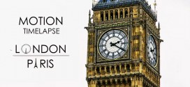 Beauté des monuments de Paris et Londres et vidéo