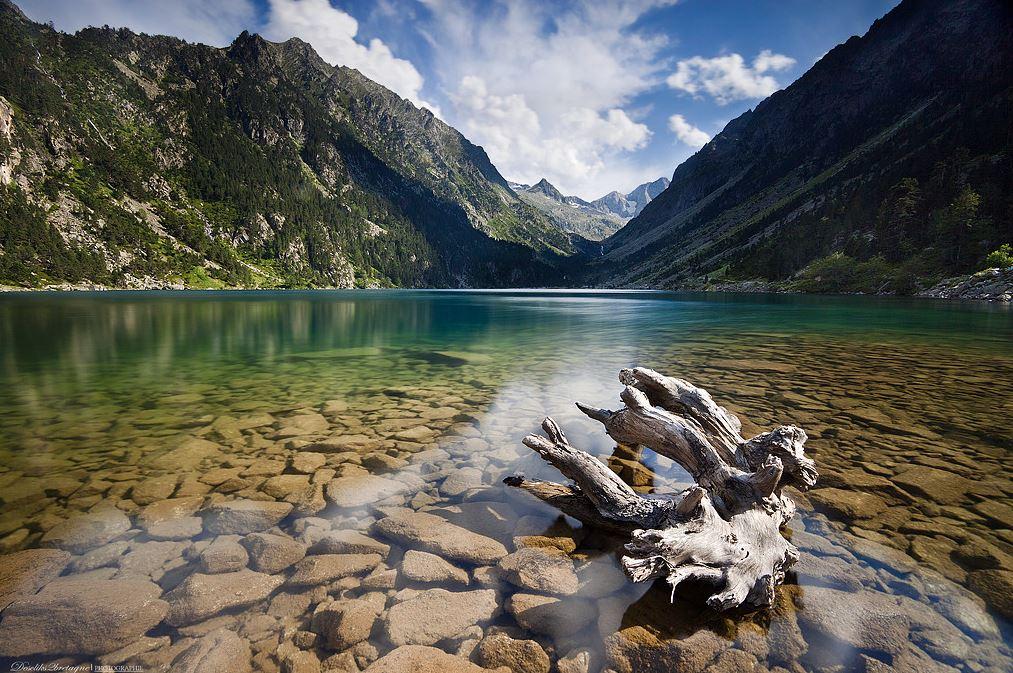 Photographie du jour 433 lac de gaube - Lac de gaube ...