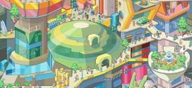 Les villes en Pixel Art par Sergey Kostik