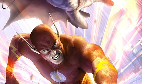 Les illustrations de super-héros d'Alex Garner