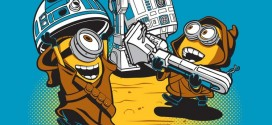 Les Minions de Moi, Moche et Méchant versions Star Wars