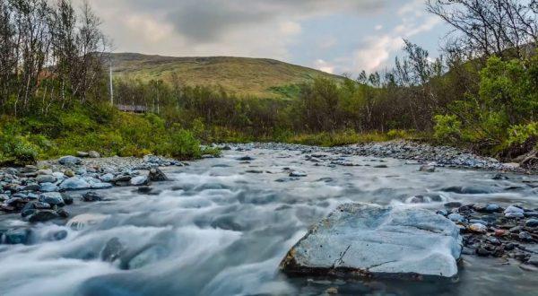 La beauté de la Suède et de la Norvège   time lapse