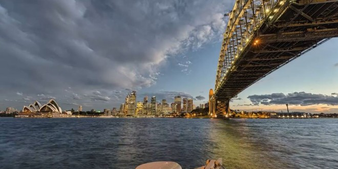 Time to Sydney – time lapse