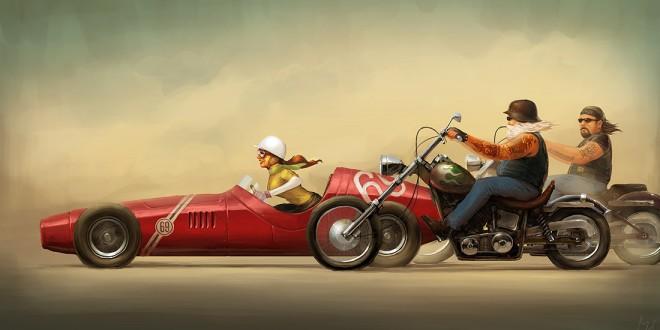 Les illustrations de Michal Lisowski
