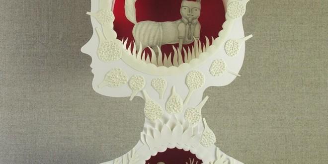 Les magnifiques sculptures papiers d'Elsa Mora