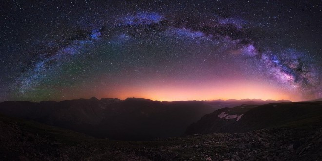 Photographie du jour #456 : Milky Way over the Rockies