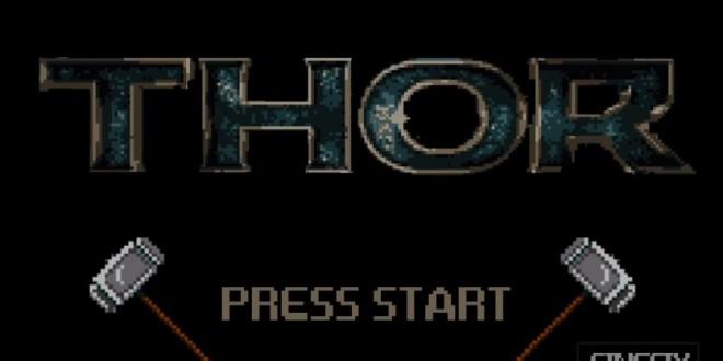 Thor 8 bit game