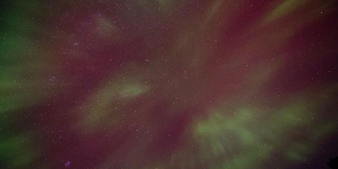 Aurora et nuits étoilées depuis Lac Supérieur en time lapse