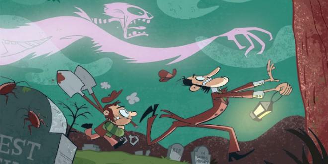 Les illustrations cartoons de Pat N. Lewis