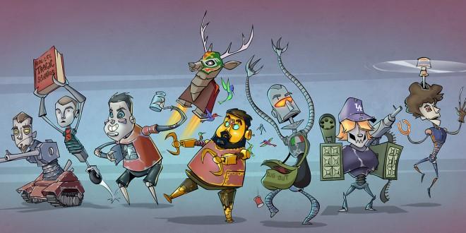 Les illustrations cartoons de Dominic Sodano